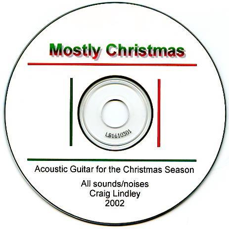 Mostly Christmas CD