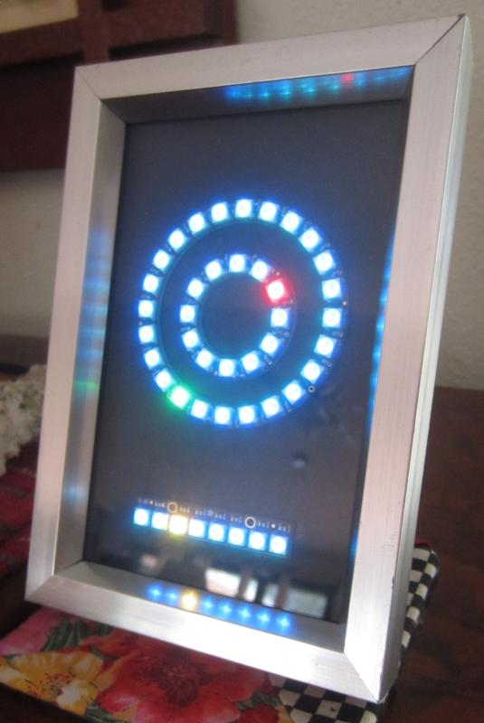 NeoPixel LED NTP Clock
