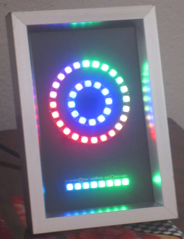 NeoPixel LED NTP Clock